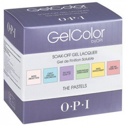 OPI GelColor - The Pastels