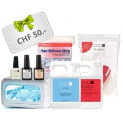CND Shellac Starter Kit Professional with UV Lamp