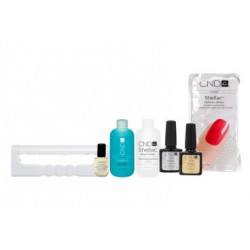 CND Shellac Mini Reise Set mit UV Lampe