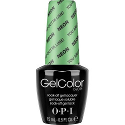 OPI GelColor - You are so Outta Lime!