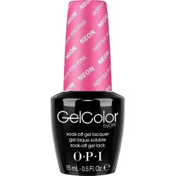 OPI GelColor - Hotter than you Pink