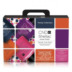 CND Shellac Trial Pack - Trendy Collection
