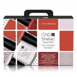 CND Shellac Trial Pack - Chic Collection